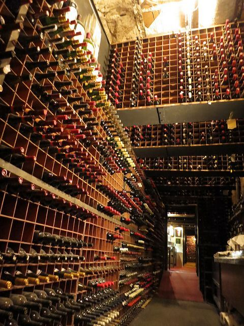 Wine Cellar At Bern S Steakhouse In Tampa Florida With The Largest