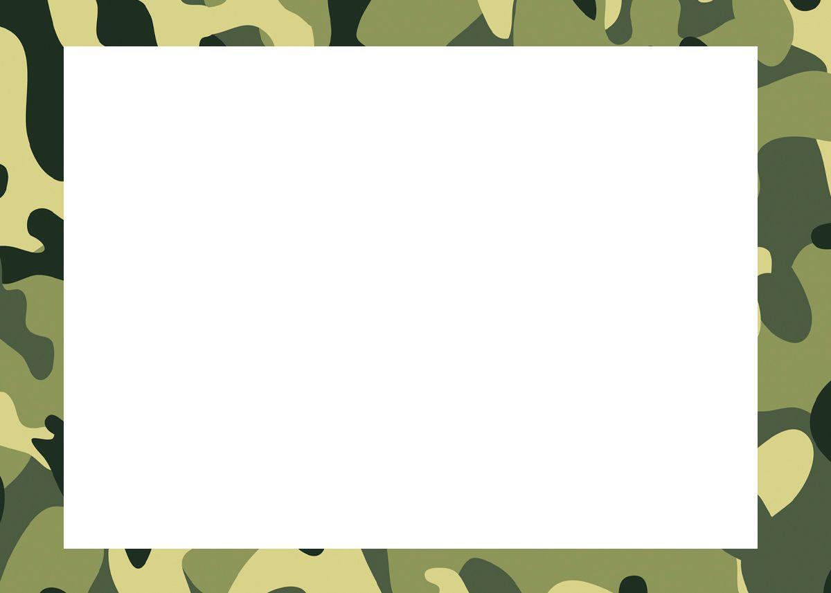 Convite 2 Kit Militar Camuflado