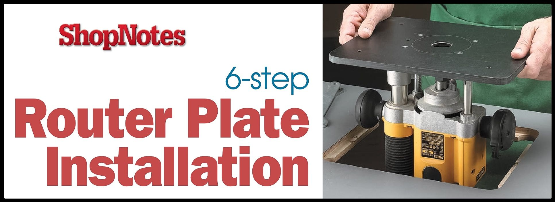 Good advice on how to install a router plate on to a bespoke router good advice on how to install a router plate on to a bespoke router table greentooth Images
