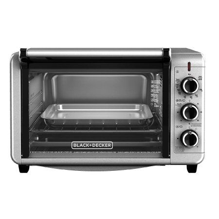 Black Decker 6 Slice Toaster Oven Silver Products