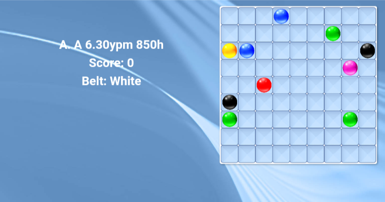 Color Lines Puzzle Game In 2021 Free Puzzle Games Online Puzzle Games Line Game