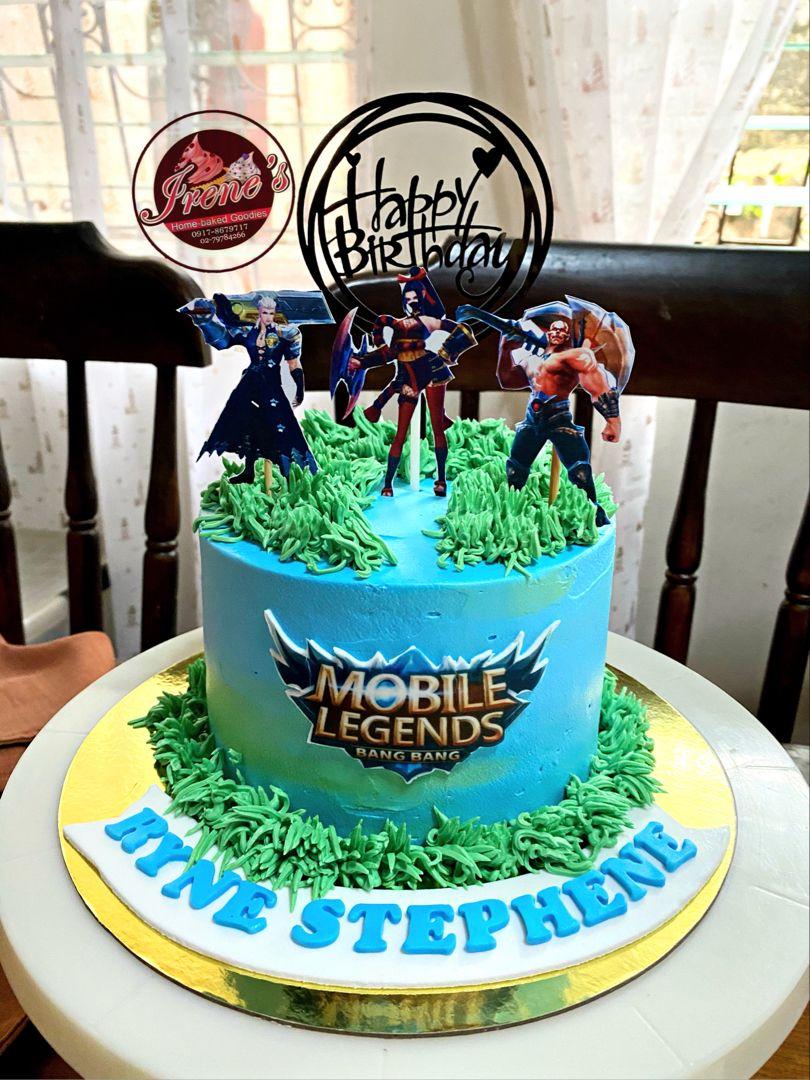 mobile legends ml cake design 1 Mobile legend ideas in 1  mobile legends, birthday cake