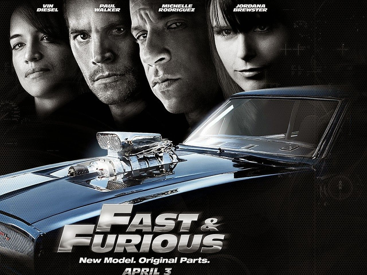 Fast And Furious 7 New Model KINJENK DESKTOP WALLPAPER