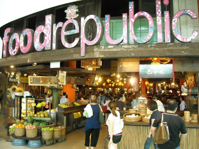 Kết quả hình ảnh cho singapore food court