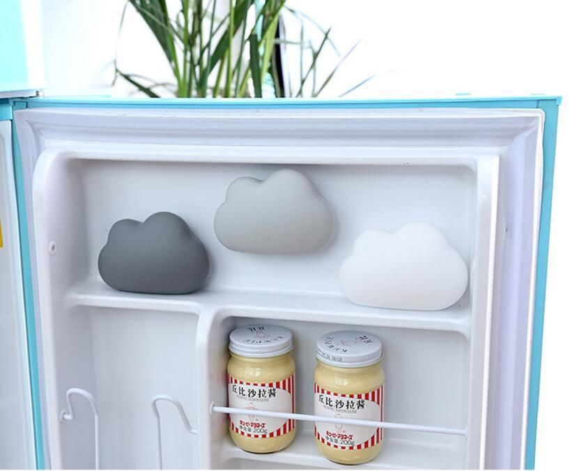 1pcs Car Air Freshener Suction Cup Refrigerator Deodorant Box Air