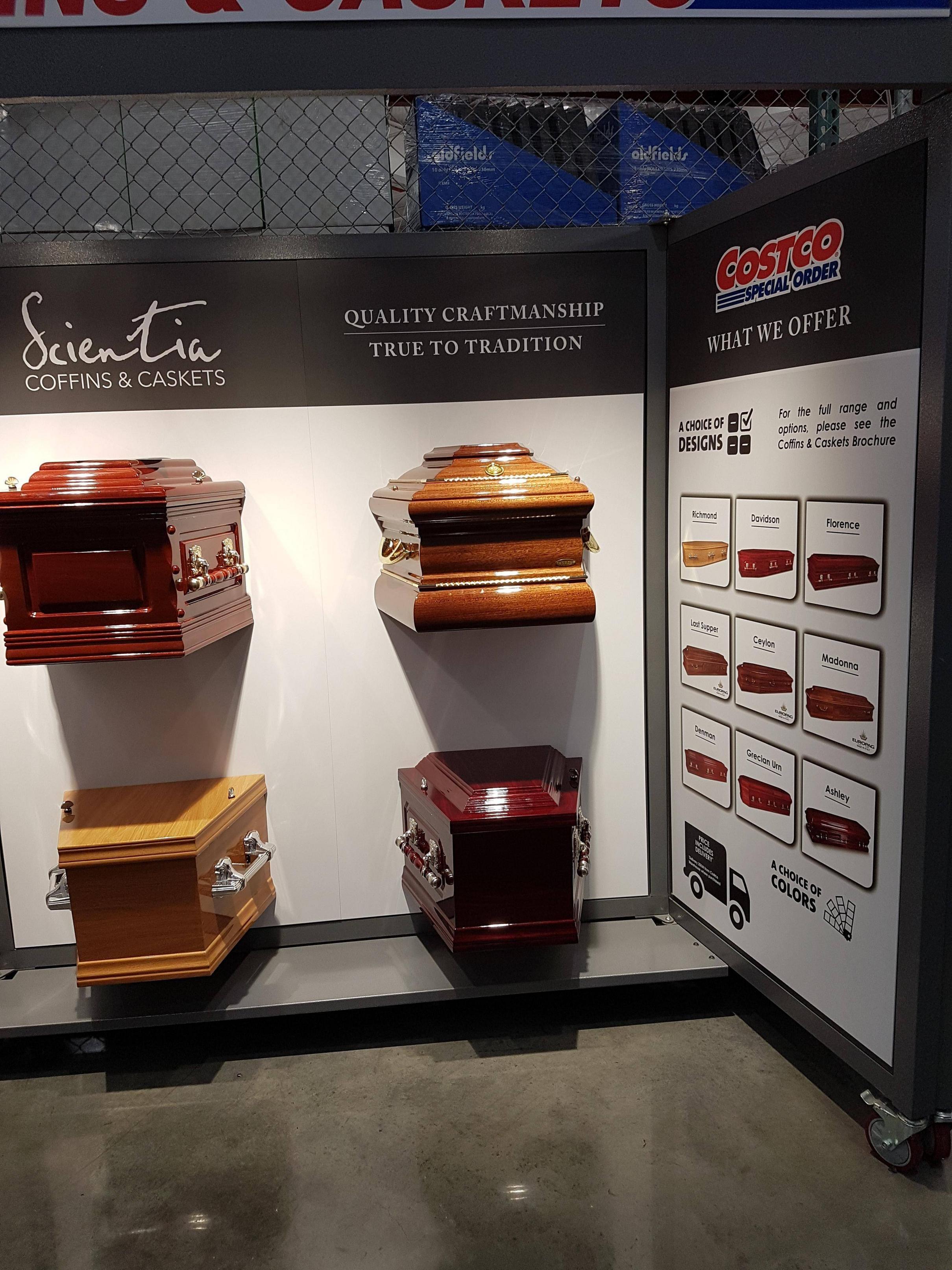 Costco sells coffins now