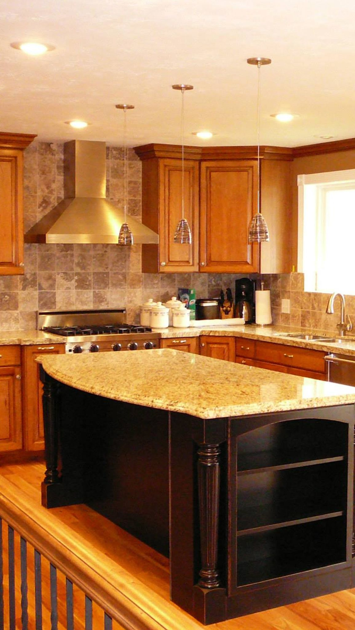 Elegant Wall Hung Kitchen Cabinets