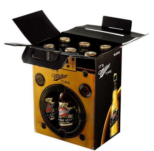 Novo design para as embalagens da cerveja Miller.