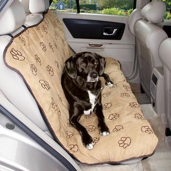 Cruising Companion Pawprint Seat Cover