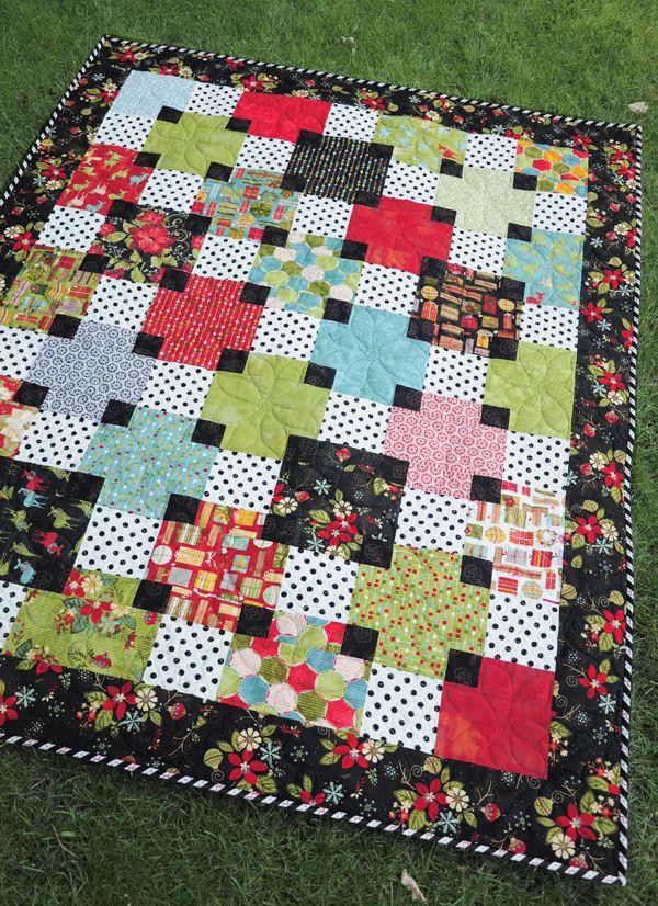 What a pretty quilt!