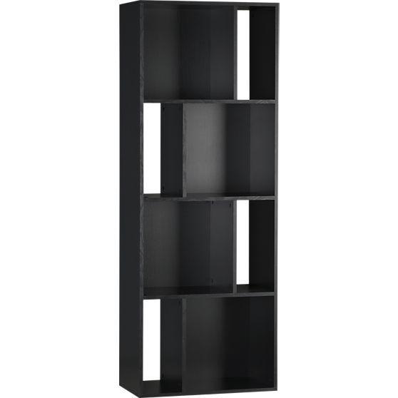 Shift Black Bookcase In Media Stands, Consoles Design Ideas