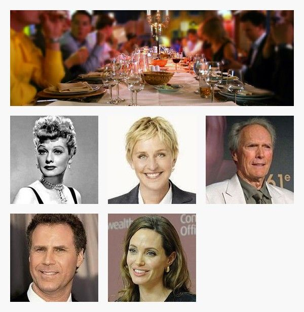 Fantasy Dinner Party Guest List To Win Pinterest Guest list - party guest list