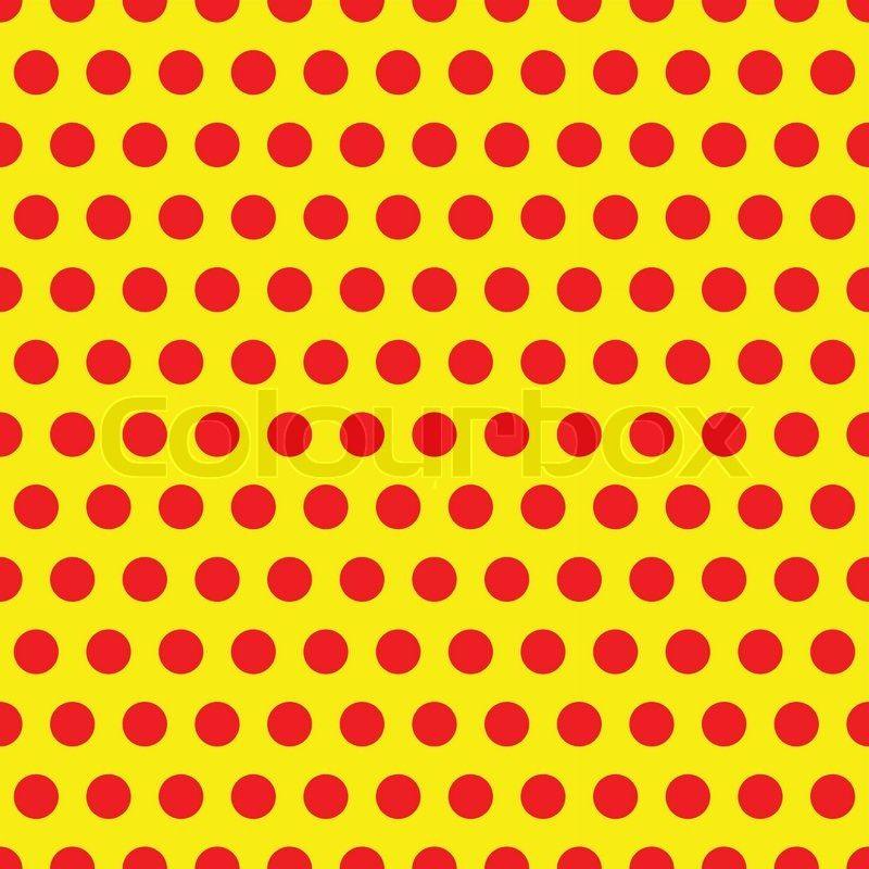Stock-Vektor von 'Polkadot, Pop-Art Muster'