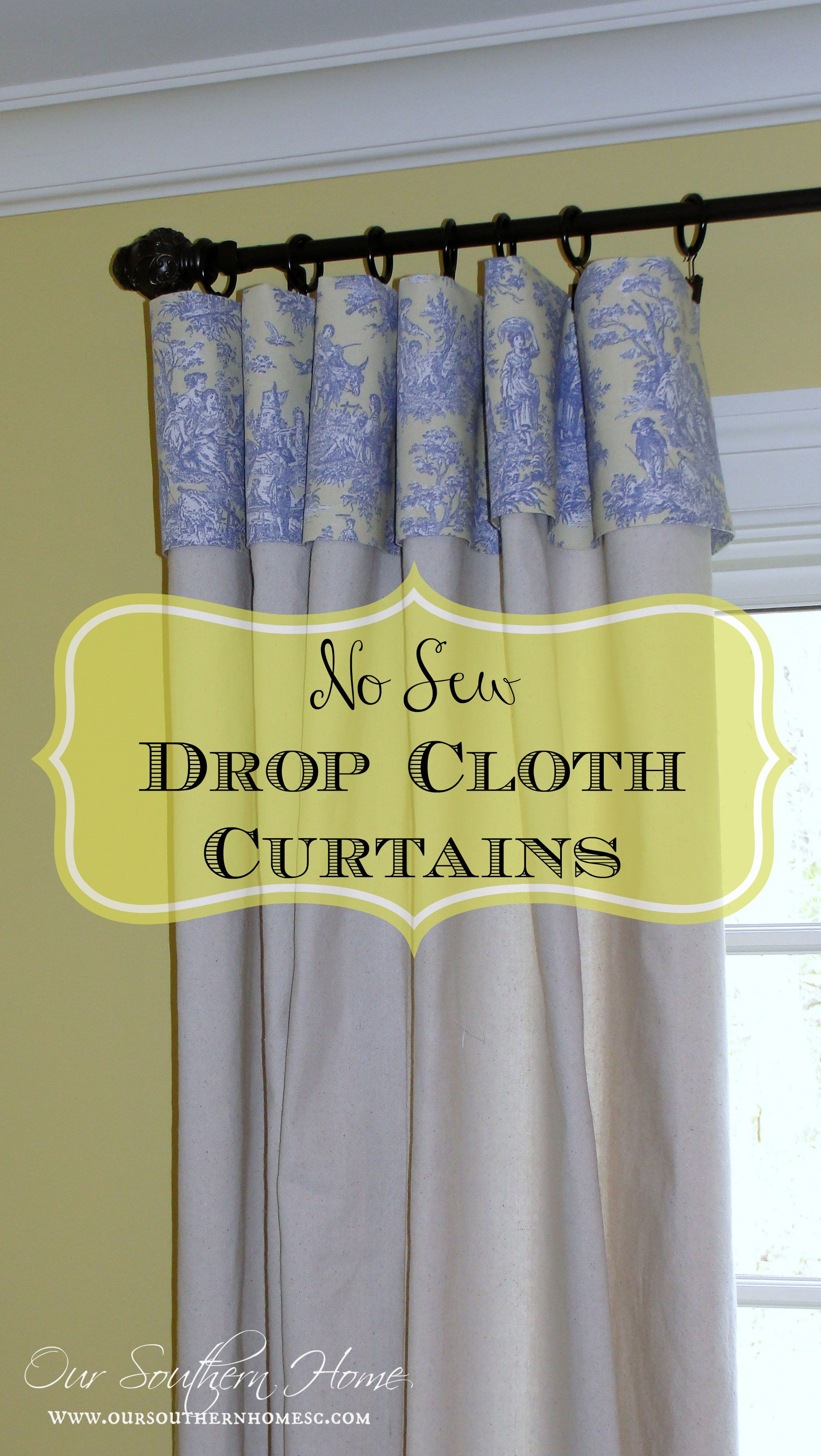 images about curtains on pinterest curtain rods drop cloth