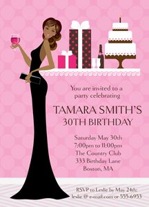 Our Diva Invitations Are A Great Way To Get Friends And Family Celebrate Your Sassy Event As Low 115 Each