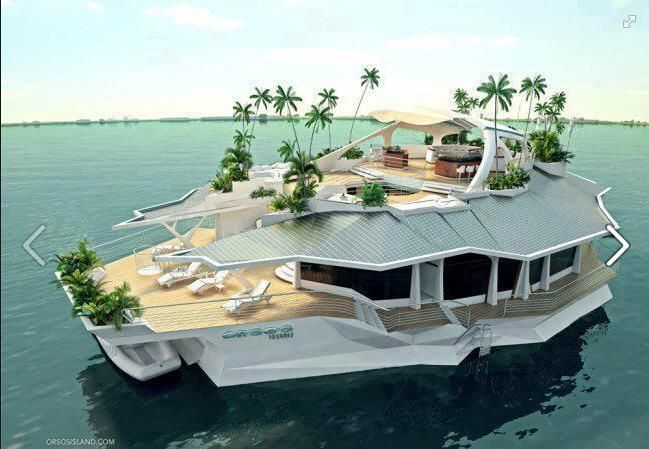 Orsos Island - I wouldn't mind being stranded on this island!