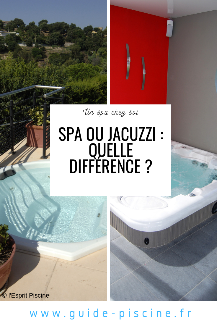 Difference Entre Spa Et Jacuzzi In 2020 Jacuzzi Spa Pool