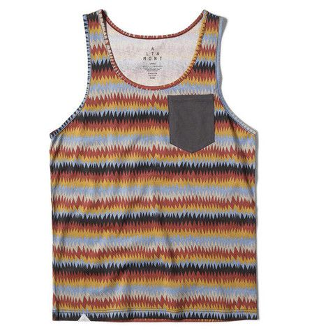 Altamont Peyote Tank Top Gold
