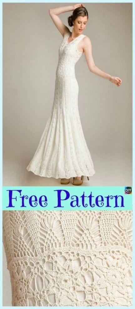 Crochet Free Pattern Dress Beautiful 64+ Ideas