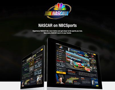 Pin by Yestro Luciano on nbc Nascar, App design, Multi
