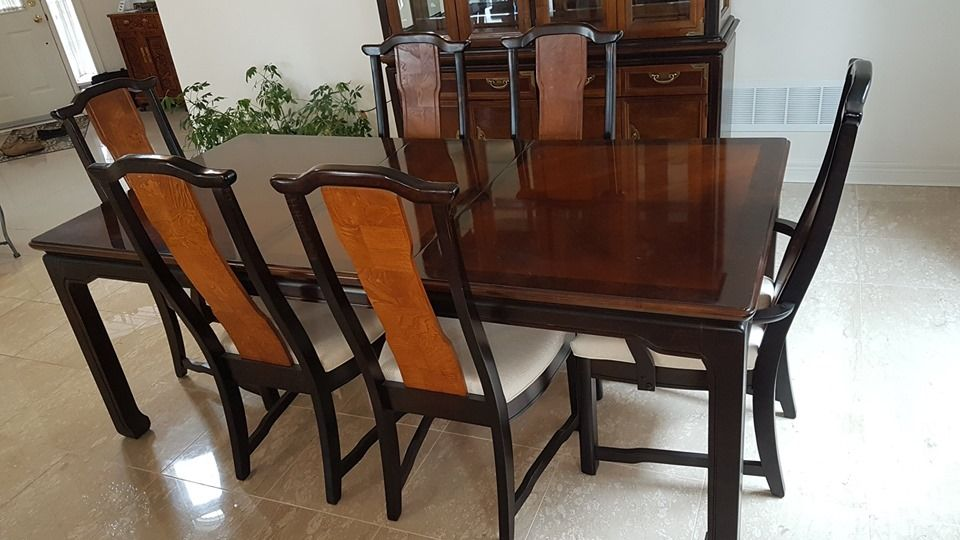 Broyhill Ming Dynasty Dining Set For Sale 3500
