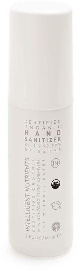 Intelligent Nutrients Organic Hand Sanitizer Intelligent