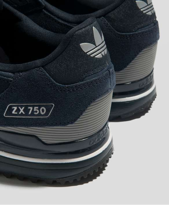 Mens Grey Good Appearance Adidas Zx 750 Running Shoes