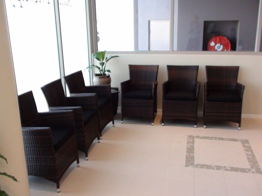 Choosing The Comfy And Adorable Waiting Room Chairs Properly Rattan Furniture Decoration