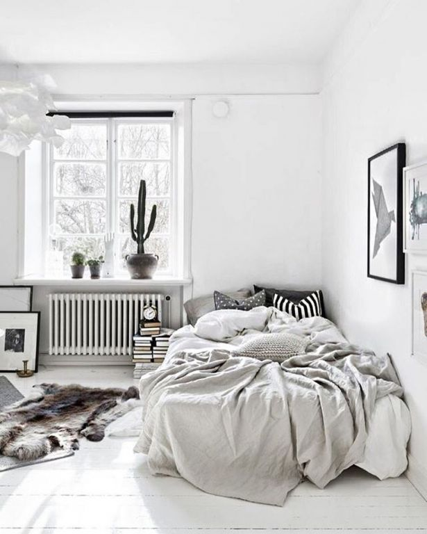 Coole Ideen Für Das Schlafzimmer Small Grey Bedroom, Minimalist Bedroom  Small, Bedroom Ideas For