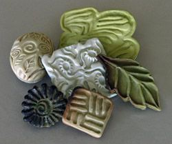 Polymer Clay Texture Stamps: Easy to Make Tools for Applying Texture to Ceramic Sculpture or Pottery  By Virginia Cartwright, May 14, 2012