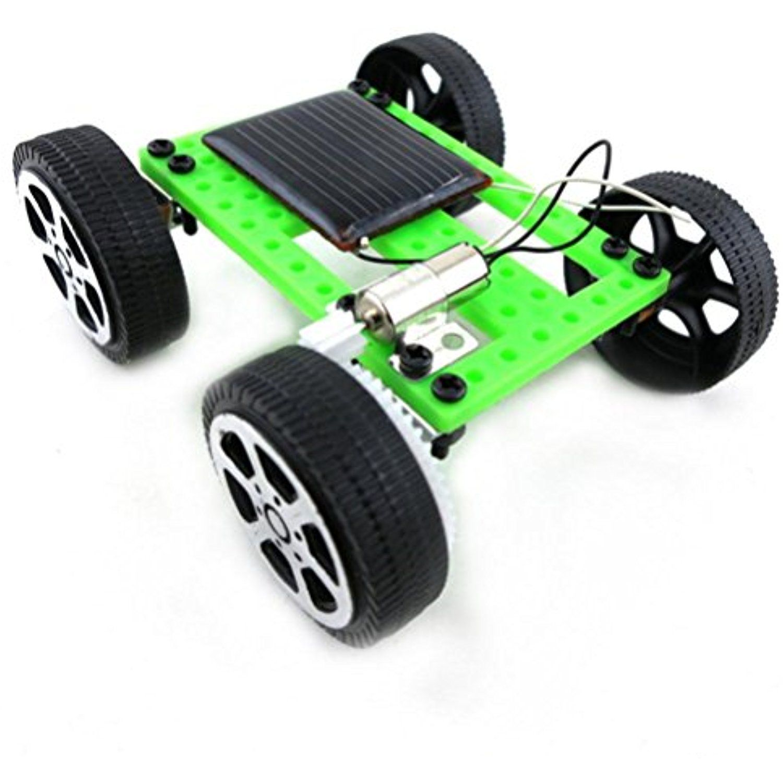 DIY 0125 Solar Powered Toy,1 Set Mini Solar Powered Toy