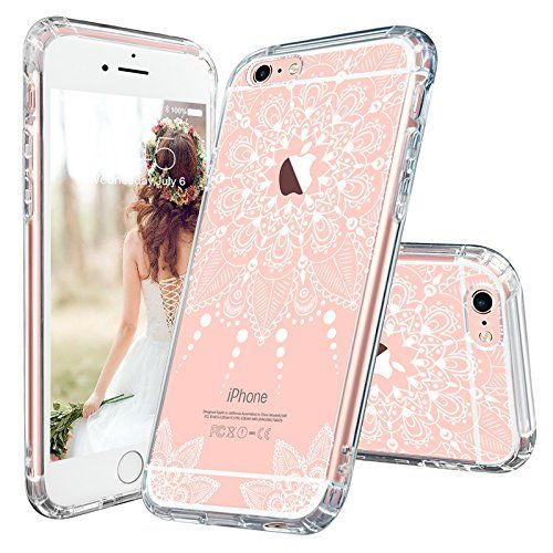 Iphone 6s Case Iphone 6 Clear Case Mosnovo White Henna Mandala