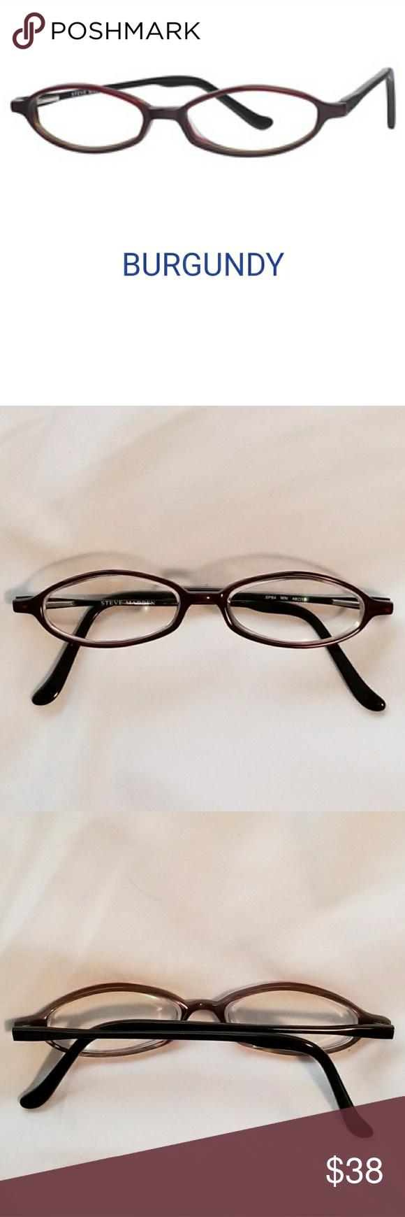 Steve Madden Eyeglass Frames Boutique | Pinterest | Burgundy color ...