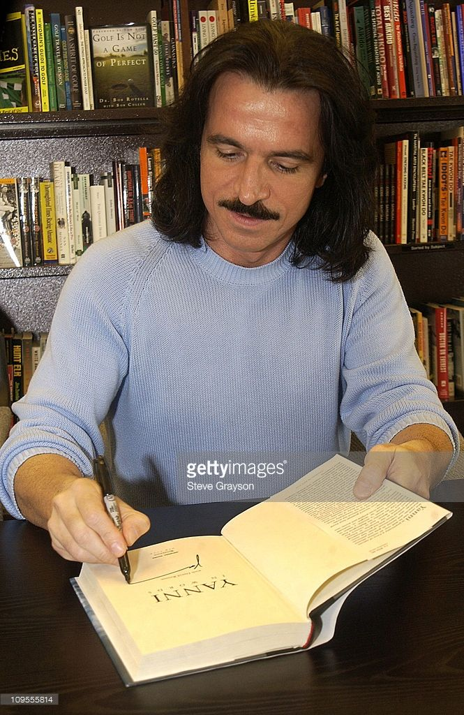 Yanni In-Store Book Signing for