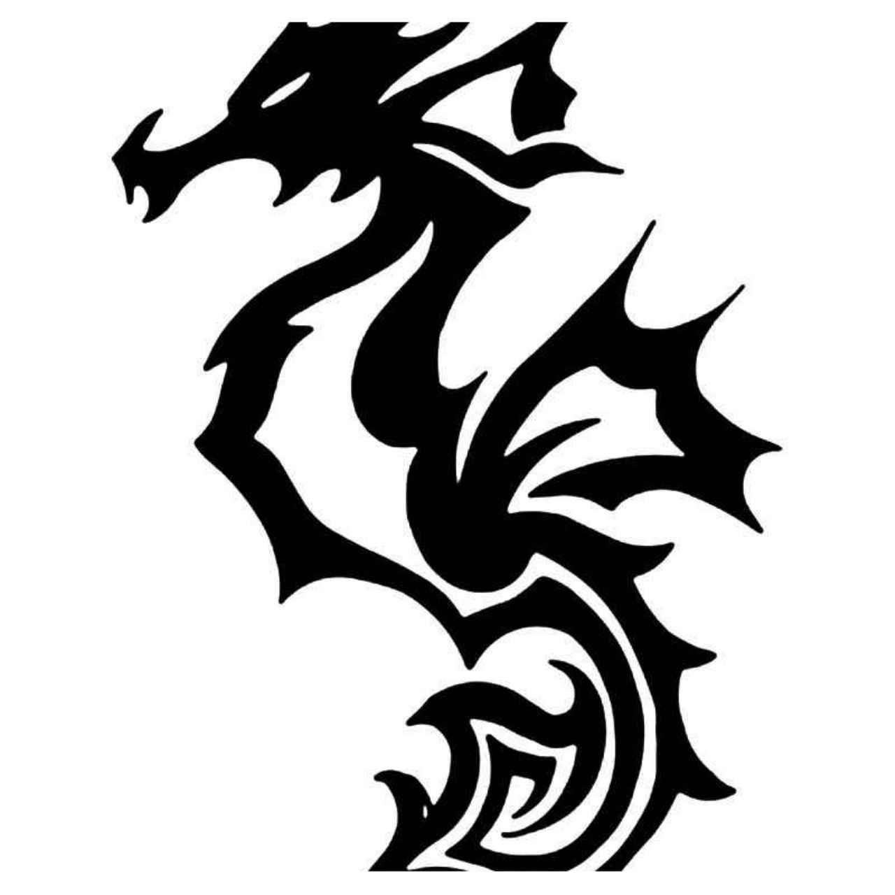 Tribal Dragon 27 Vinyl Decal Sticker With Images