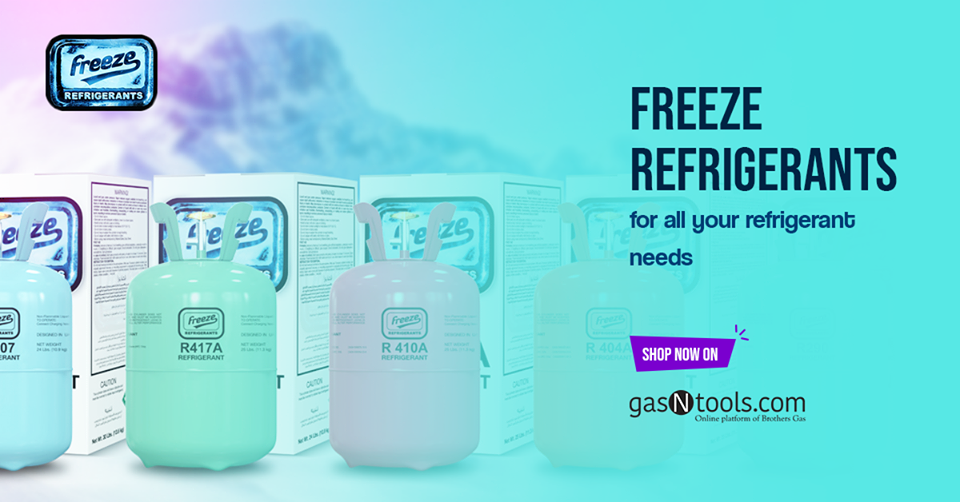Refrigerant gas suppliers Gas, Refrigeration and air