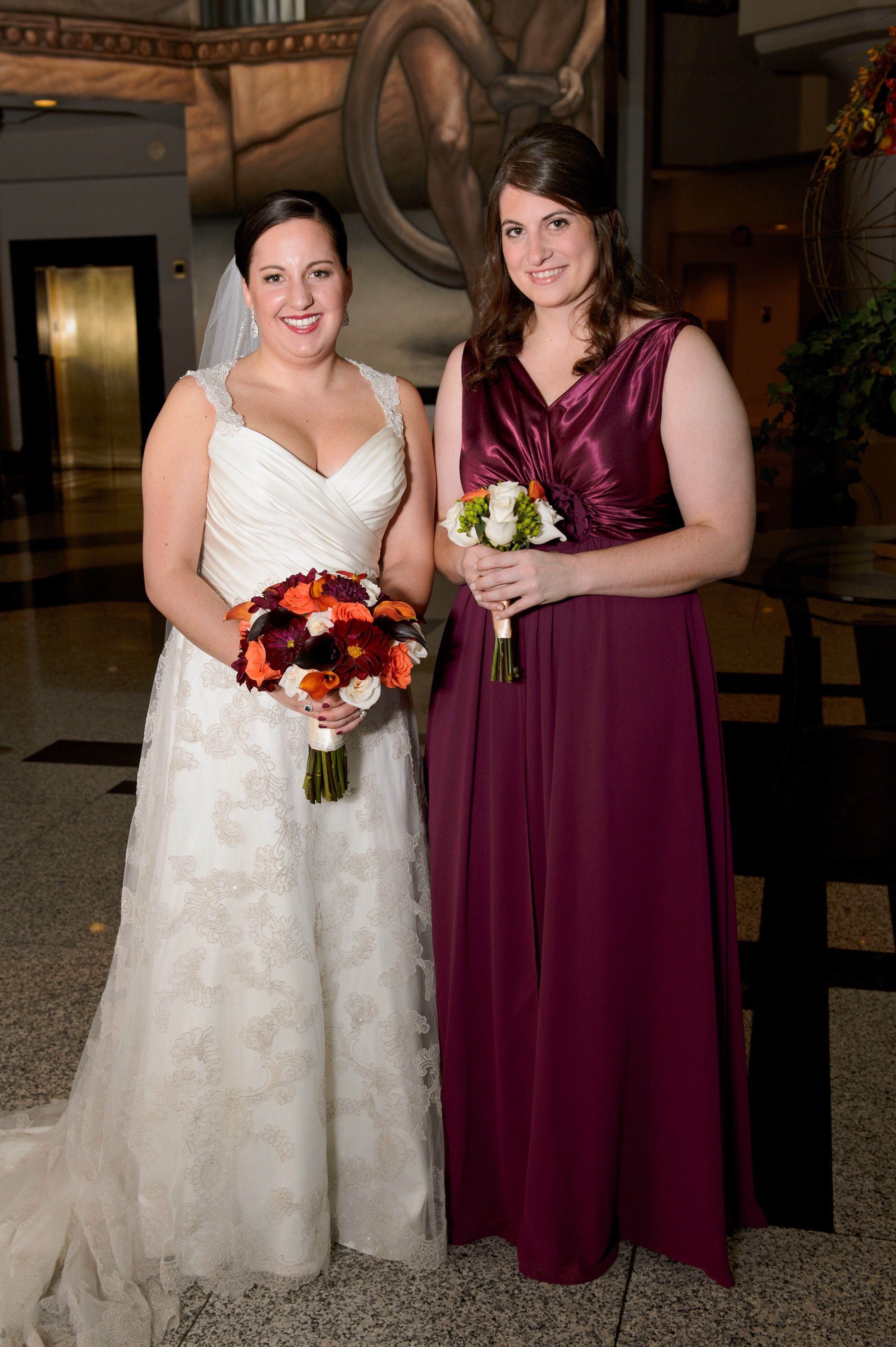 Show me your bordeaux burgundy and wine colored bridesmaid dresses