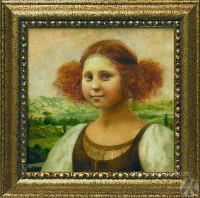 When Mona Lisa was a girl [Volkova Irina] (Gioconda / Mona Lisa)