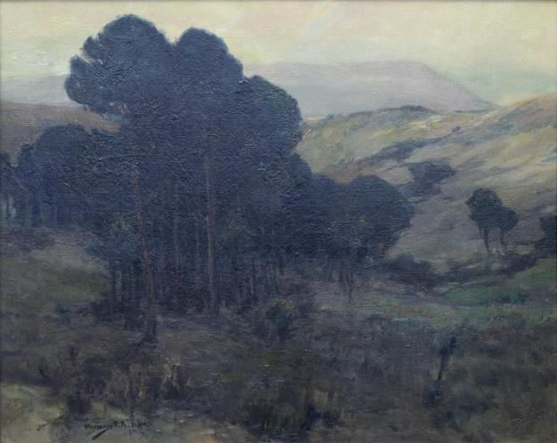"""""""Pines in the Valley,"""" Chauncey Foster Ryder, ca. 1890 ..."""