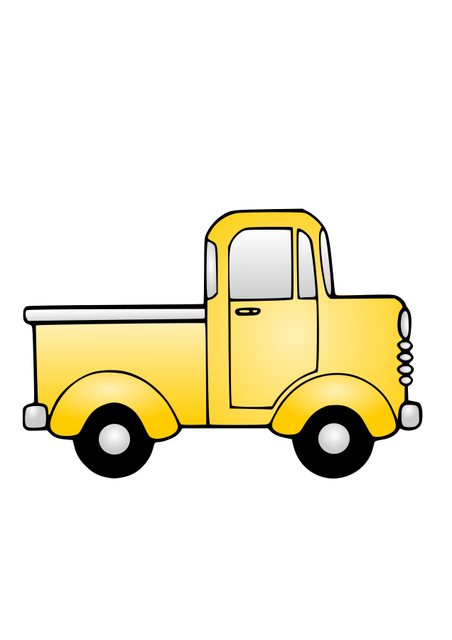 Picasa Web Albums Truck Coloring Pages Clipart Black And White Coloring Pages