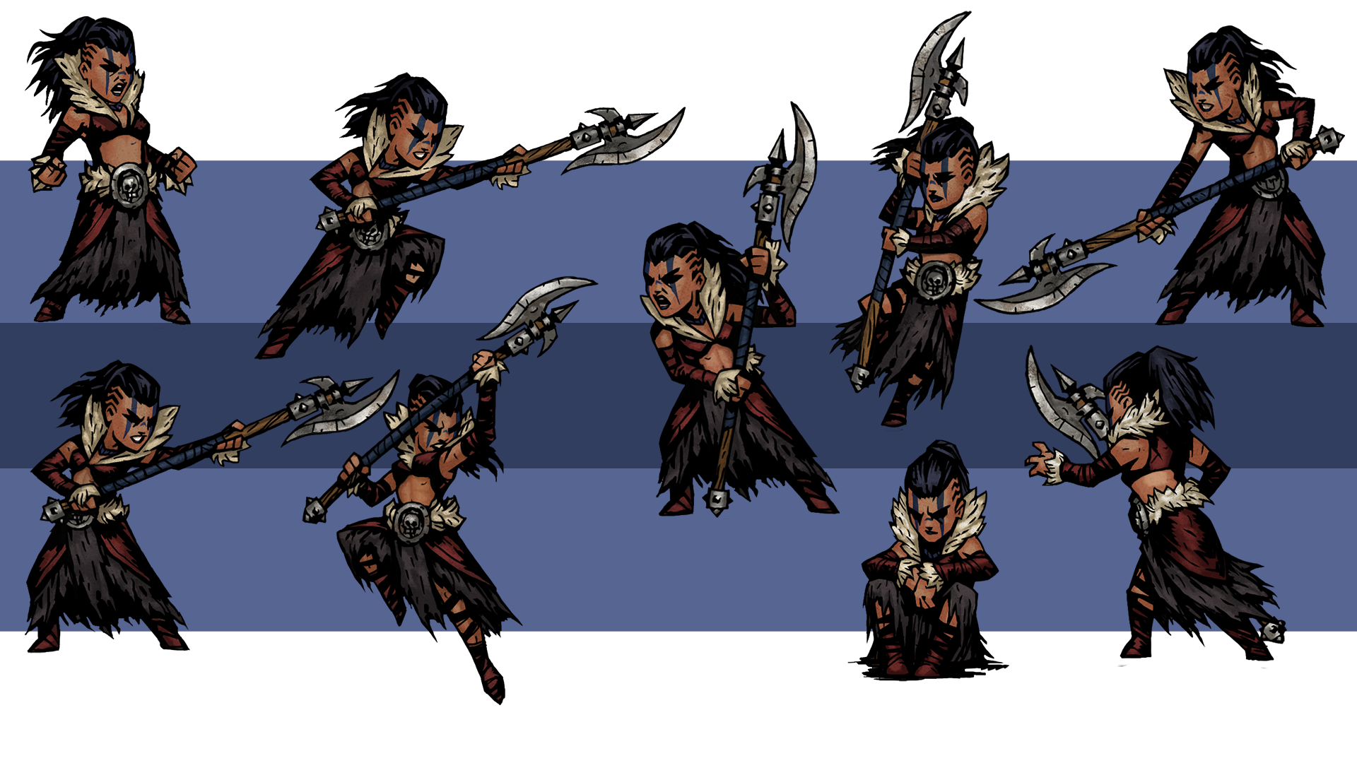 Hellion Alternative Outfit At Darkest Dungeon Nexus Mods And Community Darkest Dungeon Hellion Character Design available on steam/humble/gog a challenging gothic videogame rpg about the psychological stresses of adventuring. darkest dungeon hellion