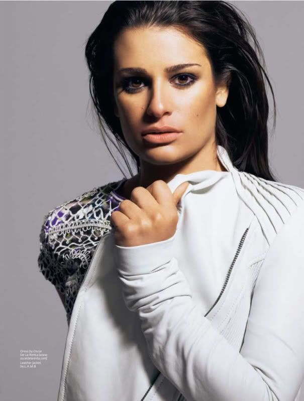 lea michele. She has more talent in her nose than most people have in their entire body.