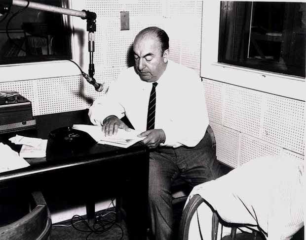Pablo Neruda reading