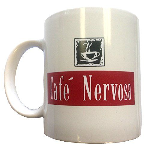 Cafe Nervosa Coffee Mug by MyPartyShirt