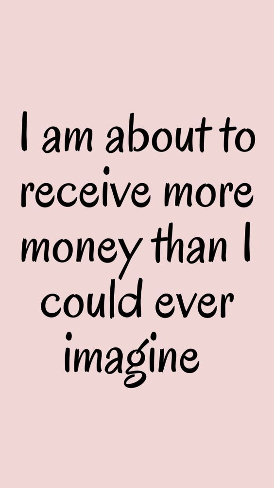 How to manifest money positive affirmations