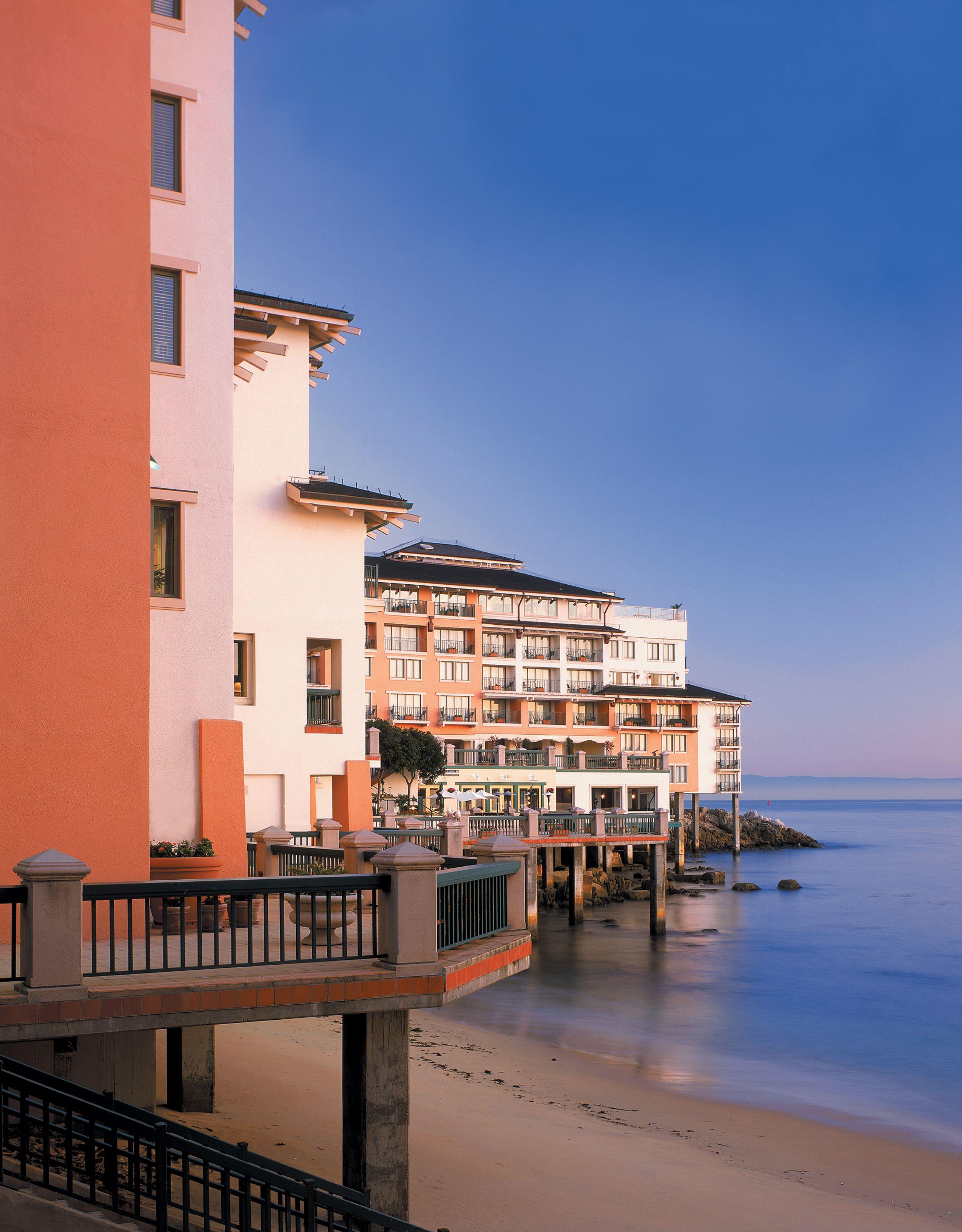 Exterior No Tree Monterey Plaza Bay Best Hotels In California