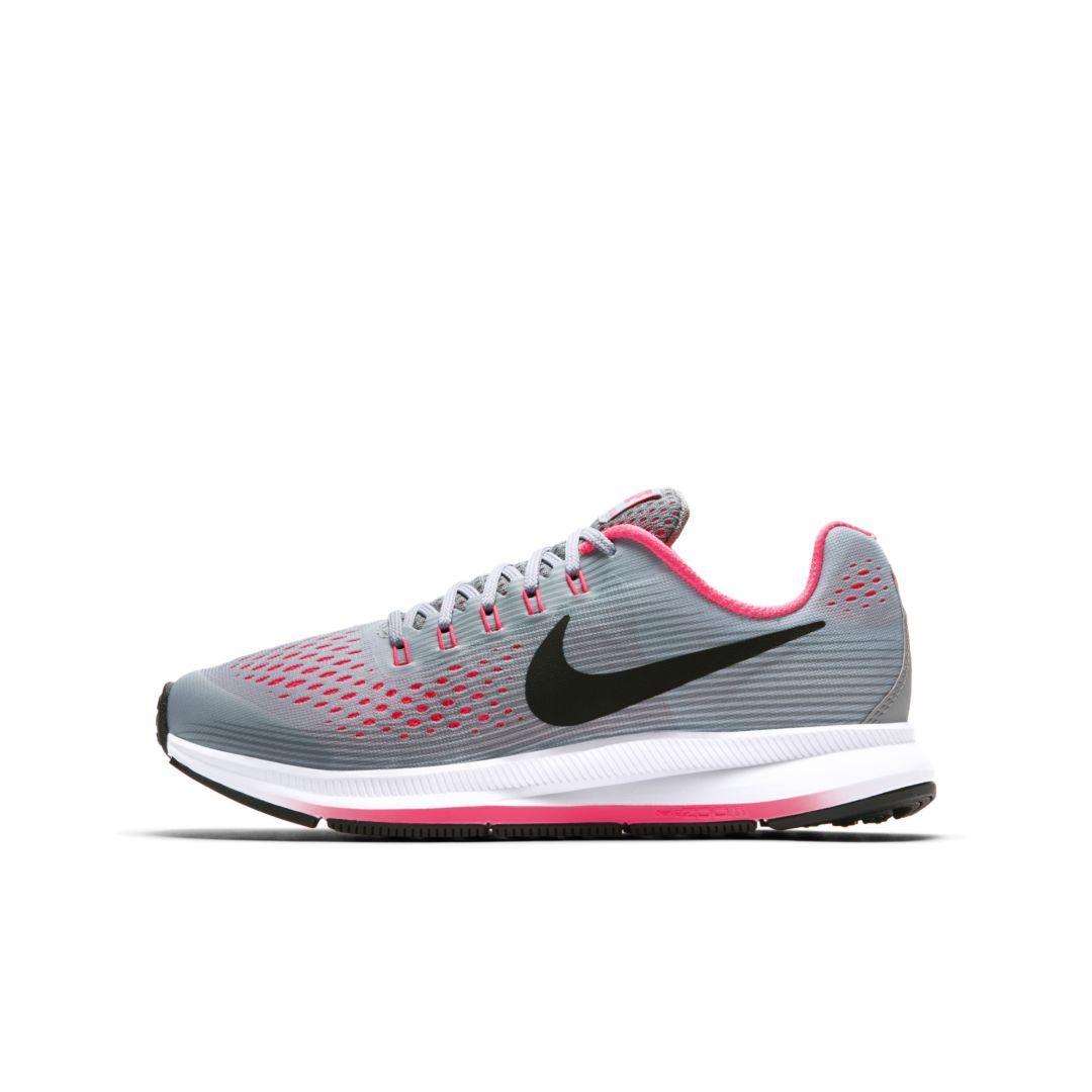d7172706f2 Nike Zoom Pegasus 34 Kids' Running Shoe Size 6.5Y (Wolf Grey ...