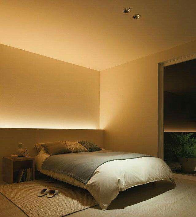 Pin de aleqc tochtli en interiores pinterest - Iluminacion dormitorio ...