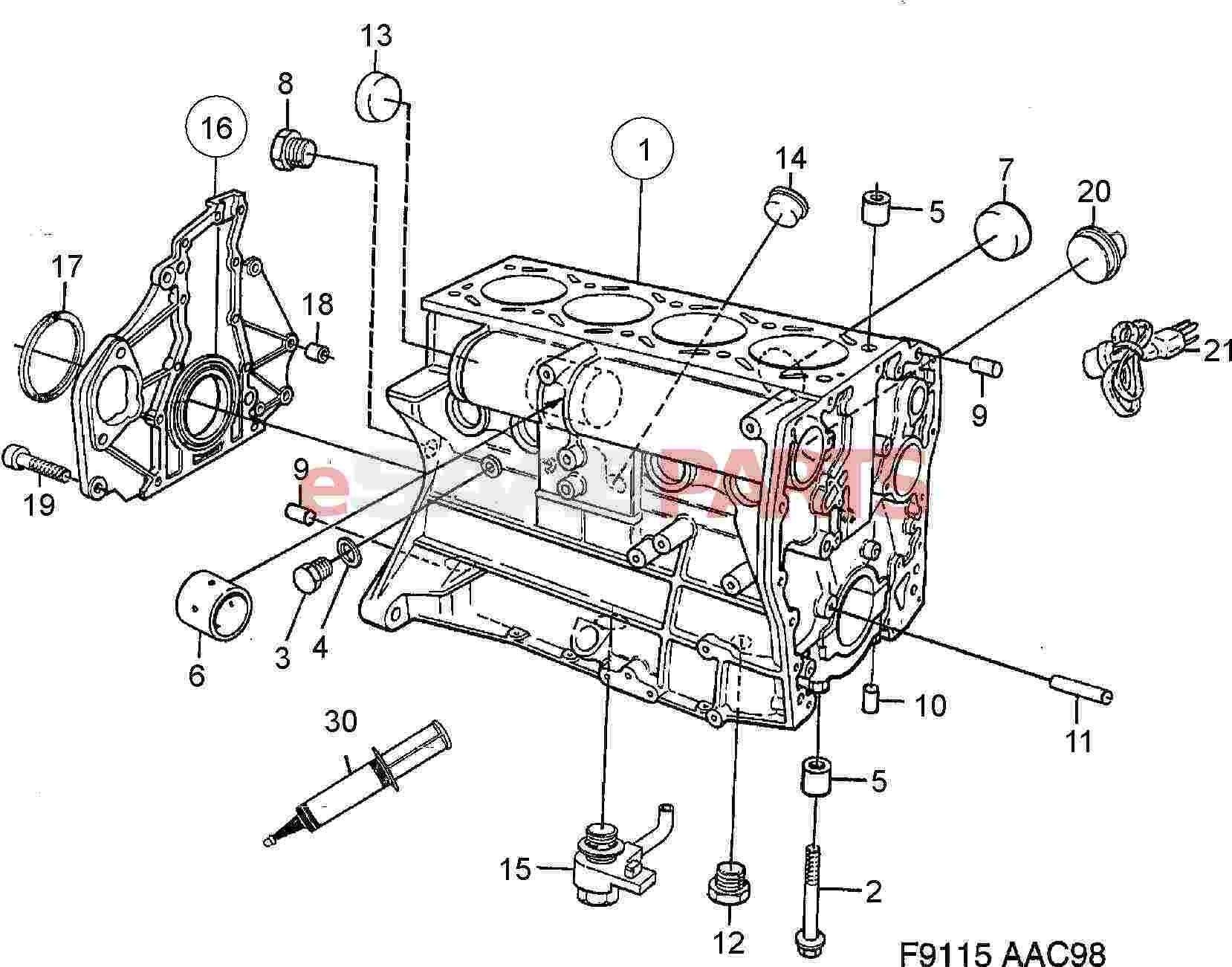 Saab 93 Engine Diagram In 2020 Diagram Saab Engineering