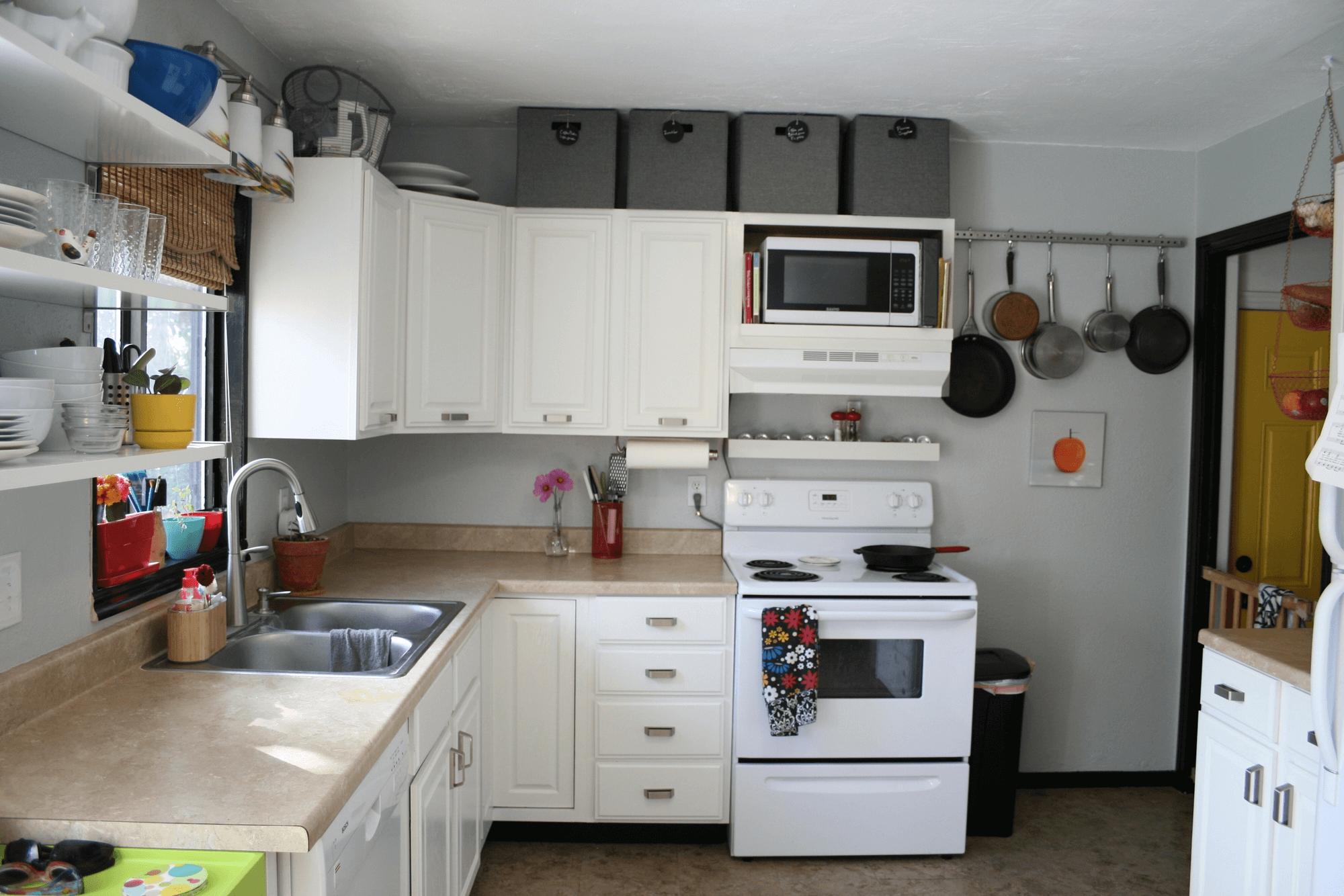 The Small Kitchen Appliance Storage Ideas Small Kitchen Guides Above Kitchen Cabinets Kitchen Cabinet Storage Small Kitchen Appliance Storage